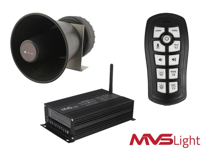 Ampli Sirine tanpa kabel/ wireless