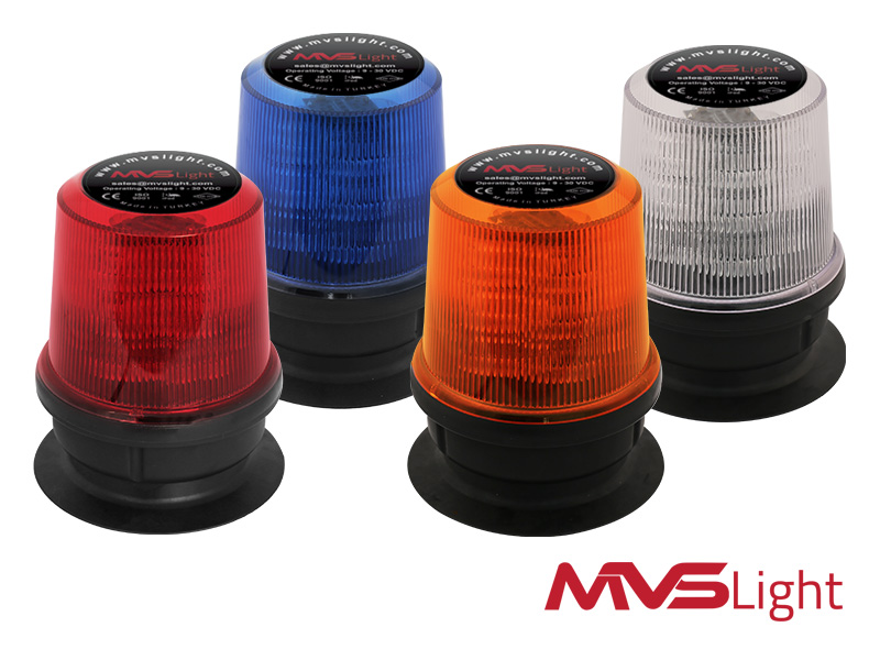 Magnet Mount Flashing Beacon Lights